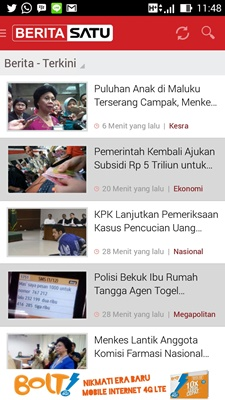 BeritaSatu App for Android