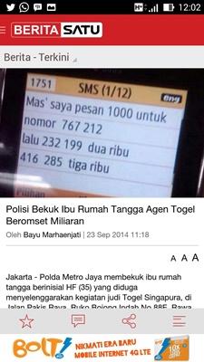 BeritaSatu App for Android