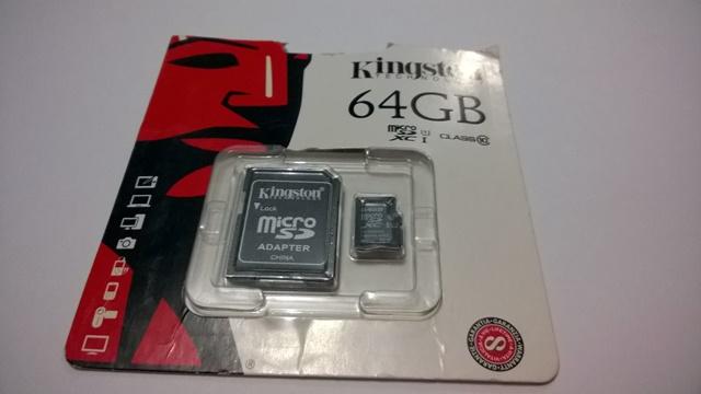 Kingston MicroSDXC Class 10