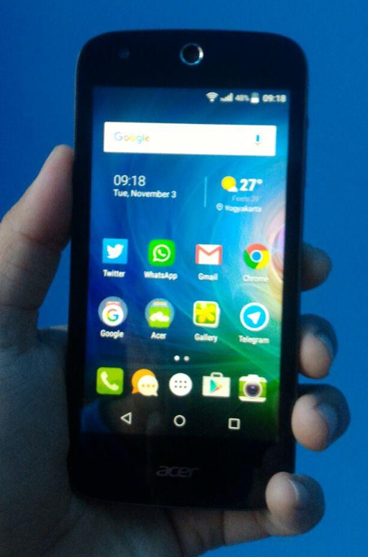 Review Acer Liquid Z320