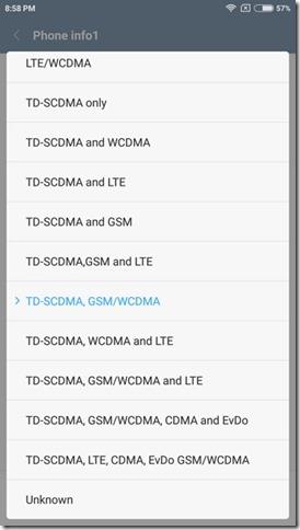 Mengembalikan LTE MIUI 8 - 2