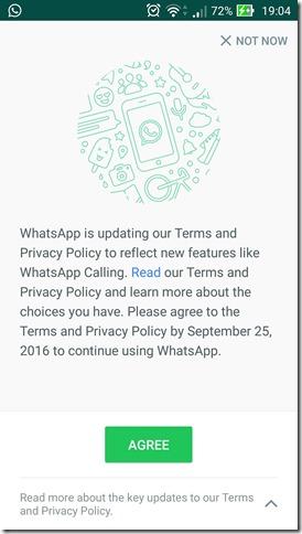 Ada apa di balik update WhatsApp
