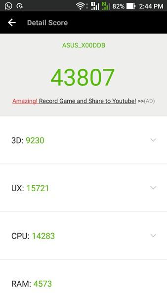 Skor Antutu Zenfone 3 Max