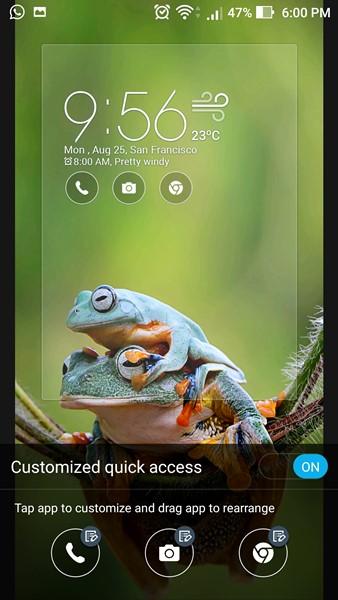 5 cara cepat akses kamera Zenfone