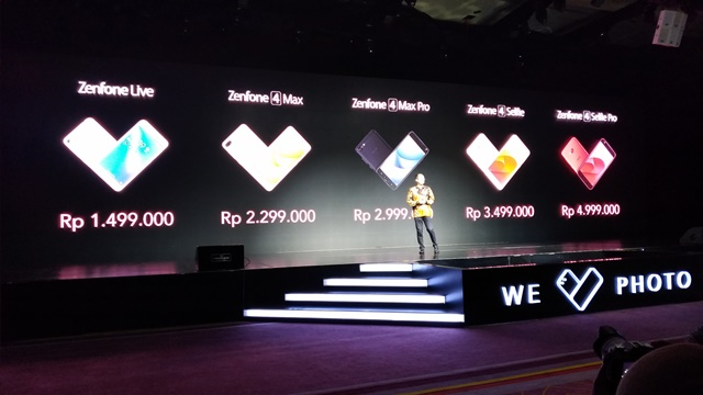 Launching Zenfone 4 Selfie