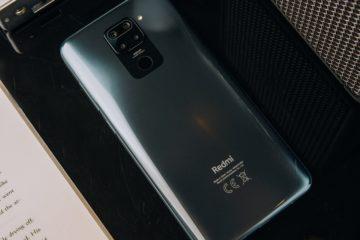 Redmi Note 9 Onyx Black